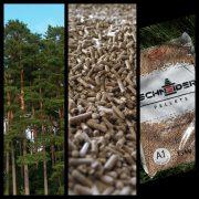 100% иглолистна дървесина