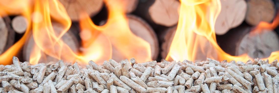 дървени пелети за отопление