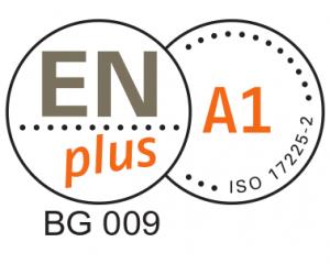 EN Plus A1 сертификат за пелети