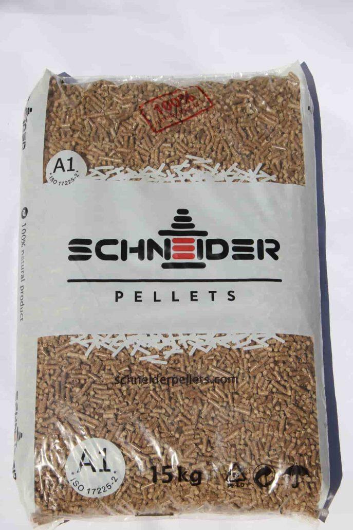 Иглолистни пелети Schneider Pellets 15кг.