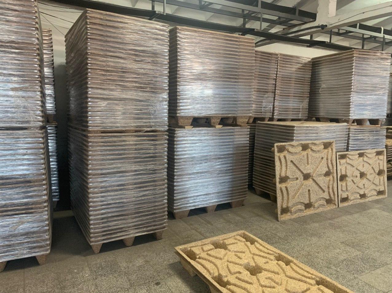 екопресовани дъресни палета